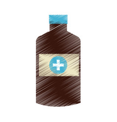 Medication health icon image vector