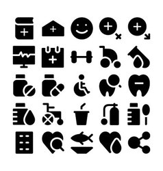 Health icons 3 vector