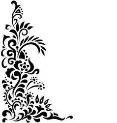 Floral background tattoo vector