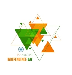 Abstract background with the symbol of india vector