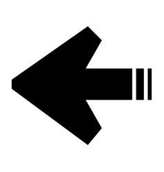 arrows sign vector image