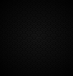 Dark vintage seamless background vector image vector image