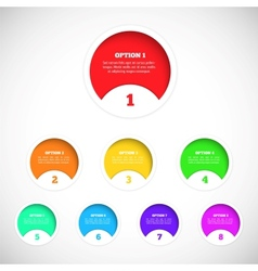 Design elements for your infographics vector image vector image