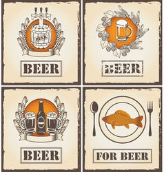 for beer vector image