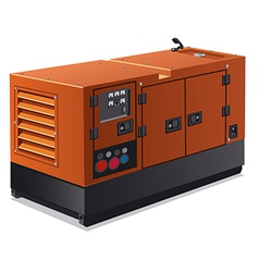 Industrial power generator vector