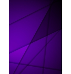 Dark violet stripes corporate background vector