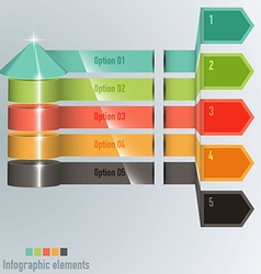 Timeline Pro - different tooltips - infographic vector image