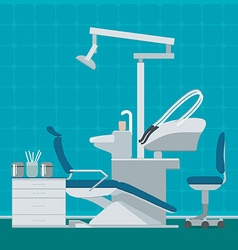 Dentist or dental office vector