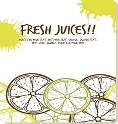 Fresh juices1 vector