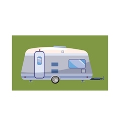 Mobil home icon cartoon style vector image