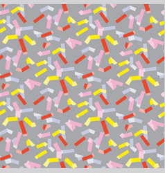 Pop art repeatable fabric sample vector