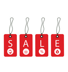 promotion sale tag vector image