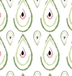 Watermelon drops pattern vector image