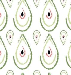 Watermelon drops pattern vector image vector image