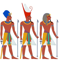 Ancient egypt pharaoh pack for passover vector