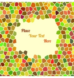 Abstract colorful background with cells for your vector image
