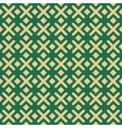 Islamic seamless background pattern vector image vector image