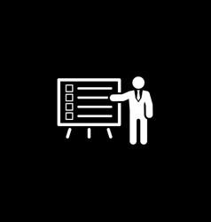 Problem statements icon flat design vector