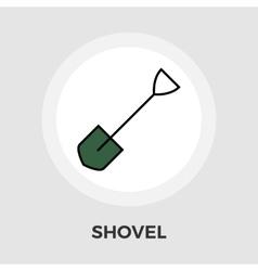 Shovel flat icon vector
