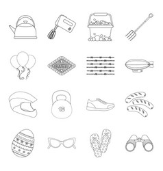 Sports religion travel and other web icon in vector
