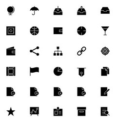 Universal Mobile Line Icons 4 vector image vector image