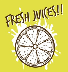 Fresh juices3 vector