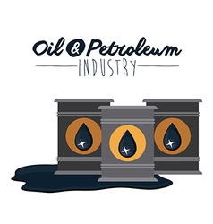 Oil and petroleum vector