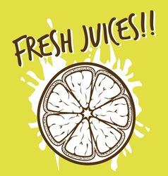 Fresh juices3 vector
