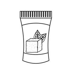 natural medicine bottle vector image