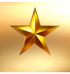 A gold star background eps 8 vector