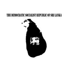 democratic socialist republic of sri lanka vector image