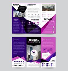 Company report flyer templates vector
