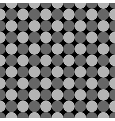 Polka dot geometric seamless pattern 5510 vector