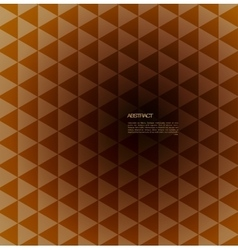 Abstract background retro mosaic brochure or vector