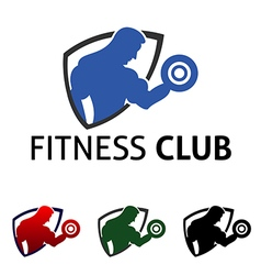 Gym Fitness Club vector image