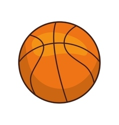 Ball icon basketball design graphic vector
