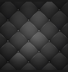 Black leather texture vector