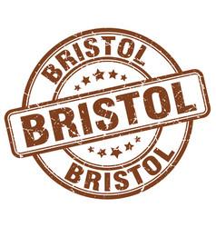Bristol stamp vector