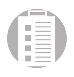 Checklist order delivery service vector