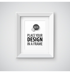 Frame template vector image vector image