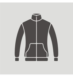 Sport jacket icon vector