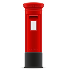 London mail box vector