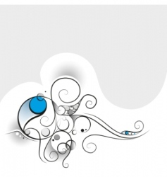 abstract curl vector image