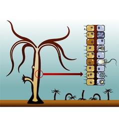 Hydra vulgaris vector