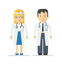 Profession medical doctor vector