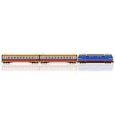 Railway train 11 vector