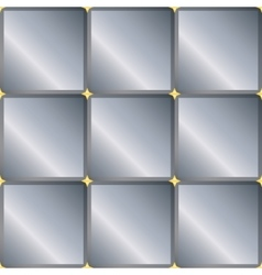 Seamless background with gray squares vector image vector image
