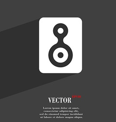 Video Tape icon symbol Flat modern web design with vector image