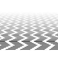 Zigzag textured surface vector image vector image