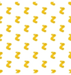 Scroll paper pattern cartoon style vector